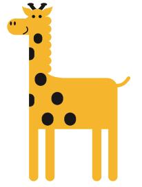 zuta zirafa